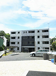 神奈川県川崎市麻生区岡上の賃貸マンションの外観