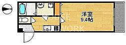 (仮称)上京区北玄蕃町共同住宅[105号室号室]の間取り