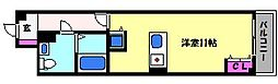 GAZELLE COVE(ガゼルコーヴ)芦屋西[3階]の間取り