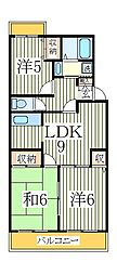 第16パールメゾン小倉[2階]の間取り