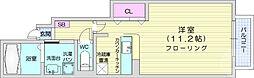 仙台市営南北線 八乙女駅 徒歩24分の賃貸アパート 1階1Kの間取り