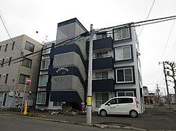 北海道札幌市東区北四十一条東7丁目の賃貸マンションの外観