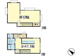 垂水駅西マンション[1階]の間取り