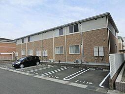 愛知県一宮市伝法寺11丁目の賃貸アパートの外観