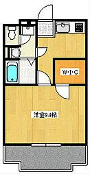 ぱる湘南台[201号室]の間取り