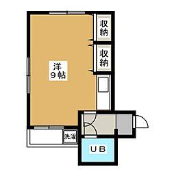 第2正美堂ビル[5階]の間取り