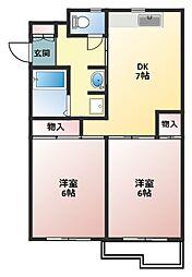シティパル戸塚第1(シティパルトツカダイイチ)[1階]の間取り