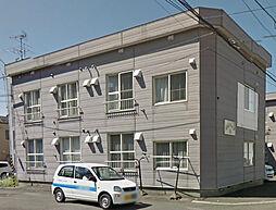 北海道札幌市東区北十五条東18丁目の賃貸アパートの外観
