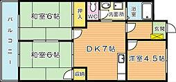 シャトレ吉野町[402号室]の外観