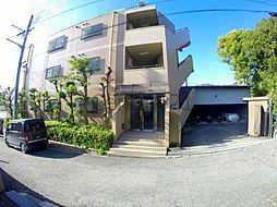 兵庫県宝塚市花屋敷荘園1丁目の賃貸マンションの外観