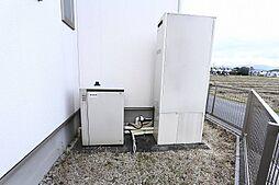 ガス発電排熱給湯システムエコウィル設置