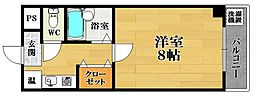 ヒサティー松原[2階]の間取り