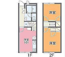 [テラスハウス] 埼玉県北本市本宿4丁目 の賃貸【/】の間取り