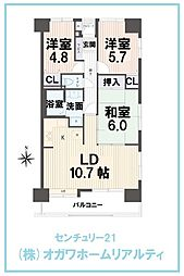蒲生ローヤルコーポ 404号室