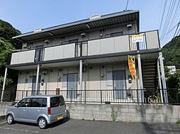 福岡県北九州市門司区長谷1丁目の賃貸アパートの外観