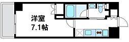 リコットハウス中野新橋[0202号室]の間取り