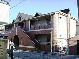 大阪府吹田市山田市場の賃貸アパートの外観
