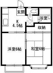 Y&M HOUSE[2階]の間取り
