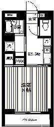 エクセラン池袋[1階]の間取り