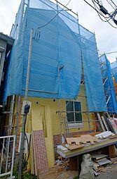 神奈川県横浜市鶴見区上末吉3丁目の賃貸アパートの外観
