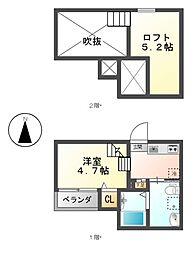 Solea[2階]の間取り