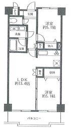コーラル東戸塚(コーラルヒガシトツカ)[5階]の間取り