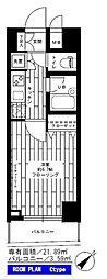 東京都世田谷区上馬2丁目の賃貸マンションの間取り