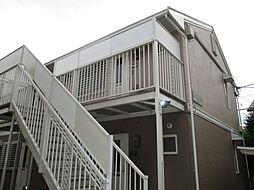パールメントハイツ B棟[1階]の外観