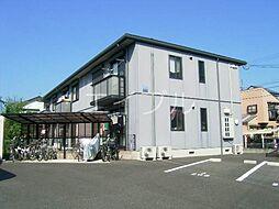 ハイツ菖A[1階]の外観