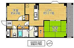 新風館[2階]の間取り