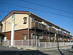 長野県飯田市今宮町4丁目の賃貸アパートの外観