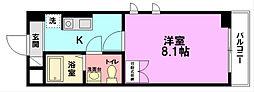 ハイブリッジ湘南3[1階]の間取り