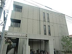 大阪府大阪市東住吉区公園南矢田3丁目の賃貸アパートの外観