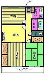 メゾン高栄A[3階]の間取り