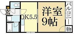 紫竹丸美ビル[2階]の間取り