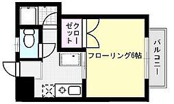 藤井ハイツ[106号室]の間取り