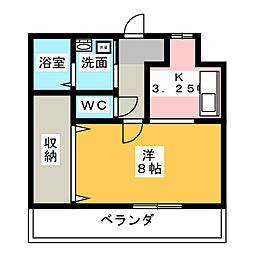 磐田ヒルズII[2階]の間取り