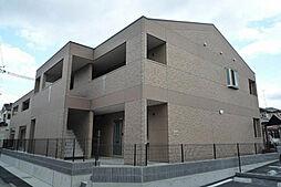 兵庫県加古川市平岡町新在家2101丁目の賃貸アパートの外観