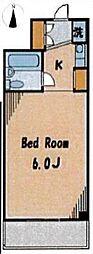 ルーブル新宿西落合[408号室]の間取り