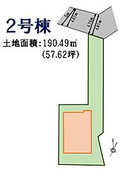 2号棟 地形図