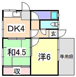 [タウンハウス] 兵庫県姫路市大津区勘兵衛町2丁目 の賃貸【/】の間取り