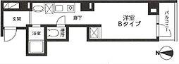 EXE日本橋[401号室]の間取り