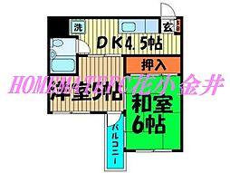 野崎ビル[7階]の間取り