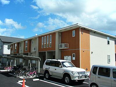 外観,2LDK,面積57.07m2,賃料7.8万円,つくばエクスプレス つくば駅 徒歩18分,,茨城県つくば市春日2丁目