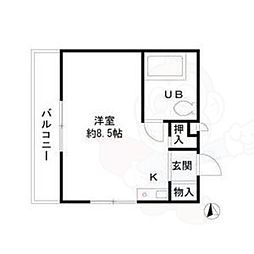 山王駅 3.9万円
