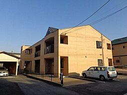愛知県北名古屋市熊之庄十二社の賃貸アパートの外観