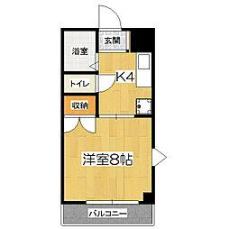 ルピナス321[2階]の間取り