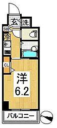 神奈川県横浜市南区新川町4丁目の賃貸マンションの間取り