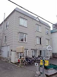 北海道札幌市北区北二十条西2丁目の賃貸アパートの外観