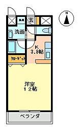 casa Rosso[302号室号室]の間取り